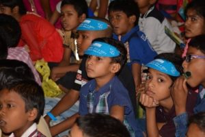 Children of SOSCV, Kolkata participating in WWD Celebration, 2018