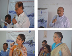 Mr. A. K Ray, Mr. Sailesh Singh, Mrs. Kamala Saha & Ms. Dipali Sarkar as eminent guests